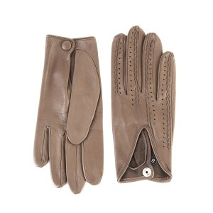 Ladies' unlined taupe spring gloves