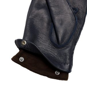Men's deerskin gloves with removable cashmere lining